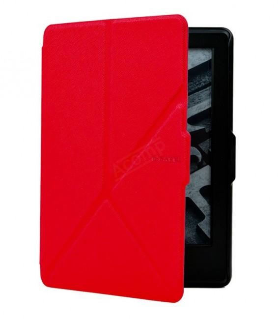 B-SAFE Origami 1199, pouzdro pro Amazon Kindle 8, cervené