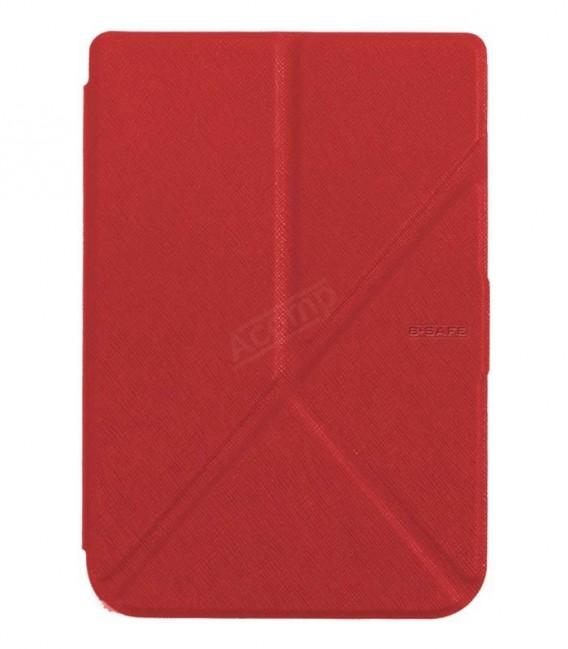 B-SAFE Origami 1196, pouzdro pro PocketBook 6xx, cervené