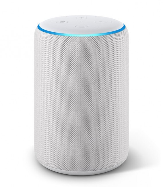 Amazon Echo Plus (2. generace) Sandstone, bílý