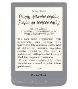 PocketBook 627 Touch Lux 4, Silver, stříbrný