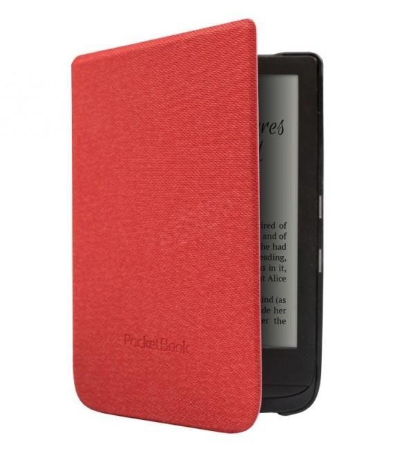 Pocketbook WPUC-627-S-RD pouzdro Shell, červené