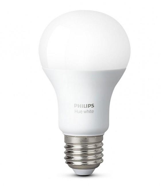 Philips Hue LED žárovka 9W, 806lm, E27, teplá bílá