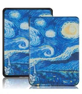 B-SAFE Lock 1292, pouzdro pro Amazon Kindle 2019, Gogh