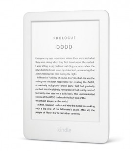 Amazon Kindle 2019, bílý, bez reklam