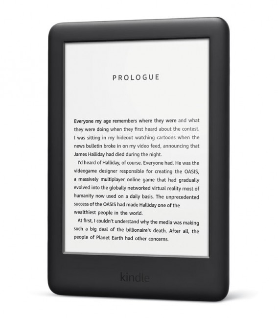 Amazon Kindle 2019, černý, bez reklam