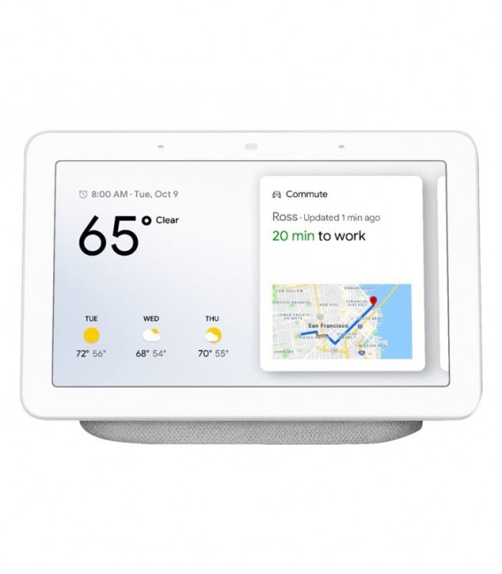 Google Home Hub chalk, šedý