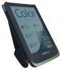 Pocketbook HN-SLO-PU-U6XX-LG-WW pouzdro Origami pro 6xx, světle šedé