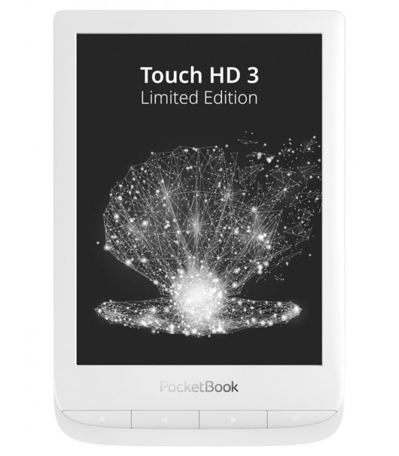 PocketBook 632 Touch HD 3 Limited Edition, Pearl white