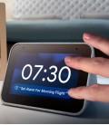Lenovo Smart clock, google asistent, šedý