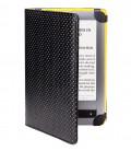 PocketBook PBPUC-623-YL-DT Pouzdro DOTS černo / žluté