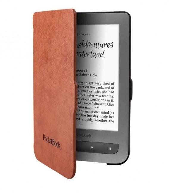 PocketBook JPB626(2)-LB-P pouzdro Shell, hnědé